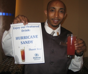 Hurricane Sandy Cocktail