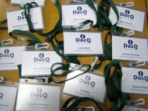 iDocQ delegate badges