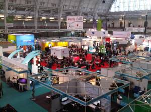 Online 2010 exhibition hall