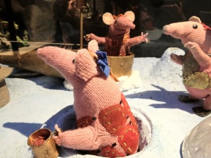 The clangers, photograph copyright Tom Goskar