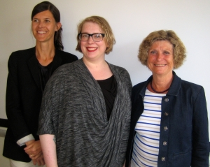 Dr Ann-Sophie Axellson, Dr Monica Lassi, and Professor Louise Limberg