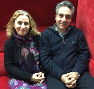 Dr Christina Banou and Dr Petros Kostagiolas