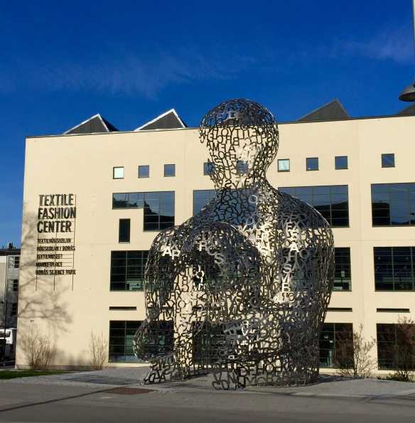 The Textile Fashion Center, Borås, and House of Knowledge by Jaume Plensa