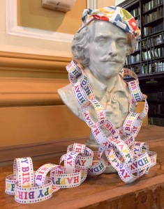 William Shakespeare celebrates Edinburgh Central Library's 125th birthday