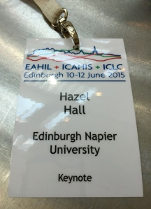 EAHIL delegate badge