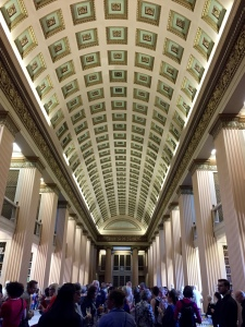 EAHIL reception at the Playfair Library
