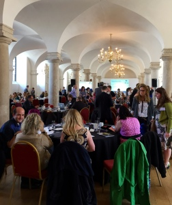 Participants at the Athena SWAN awards ceremony