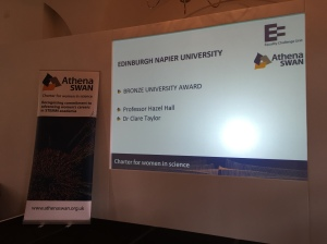 Edinburgh Napier's award is announced