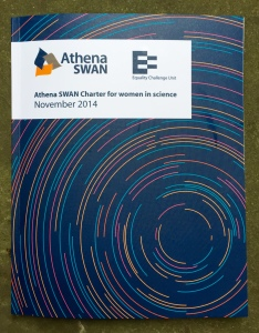 Athena SWAN awards ceremony booklet