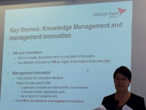 Louise Rasmussen presents at i3