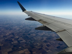 Flying from Toronto to St Louis