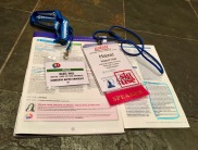 #ASIST2016 & #ILI2016 brochures and lanyards