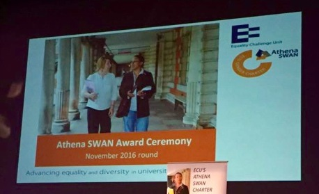 Athena SWAN awards ceremony July 2017