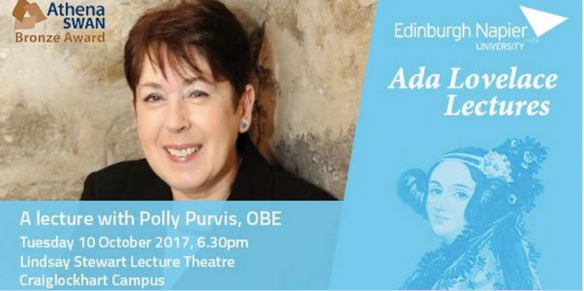 Ada Lovelace Day Polly Purvis banner
