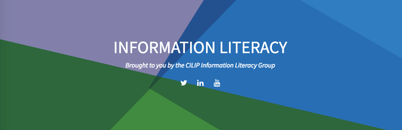 CILIP Information Literacy Group banner