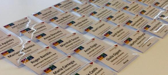 #lisrival RIVAL event 1 delegate badges
