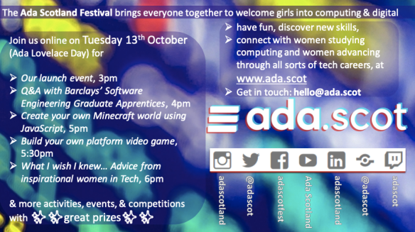 Ada Scotland Festival flyer