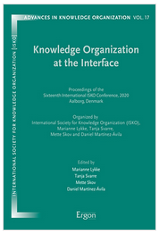ISKO 2020 conference proceedings cover